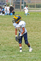 2012-09-01 Wolvervines vs Chargers POP Warner Football