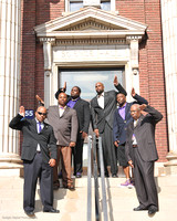 2011-07-30 OmegaPsiPhi Centennial- Science Hall Shots