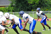 2012-08-16 Southfield-East Village-Inkster-Lake Shore Football Scrimmage